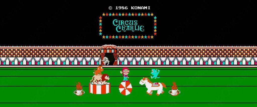 Tekmovanje v igri Circus Charlie (NES)