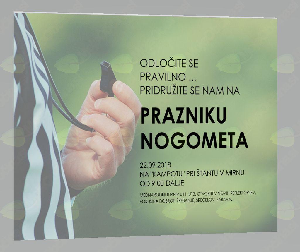 PRAZNIK NOGOMETA