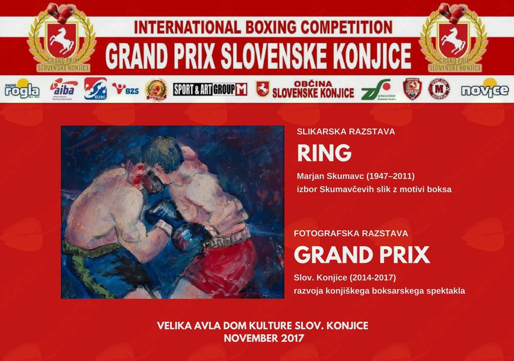RING, slike Marjan Skumavc in foto Grand Prix Slov. Konjice