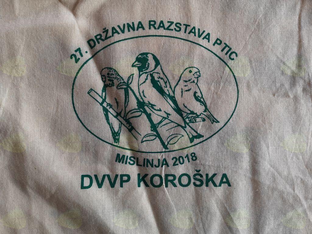 27. državna razstava ptic - DVVP Koroška