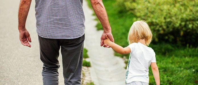 Vnuki in stari starši