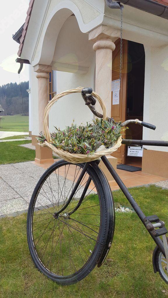 Blagoslov kolesarjev na Šmarčni