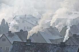 Emisije pare, delcev in strupenih plinov iz dimnikov