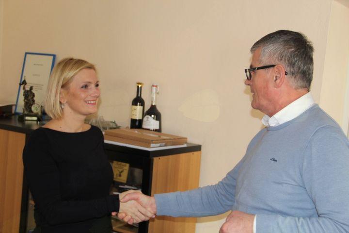 Župan je čestital Mireli Čorić za naziv ženska leta 2017.
