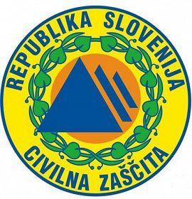 Logotip Civilne zaščite
