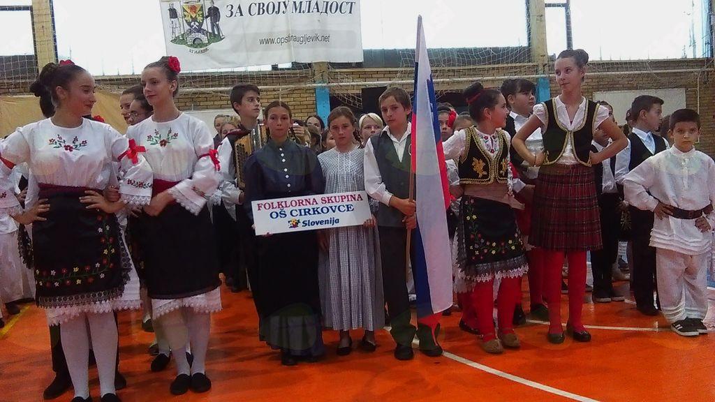 Gostovanje Folklorne skupine OŠ Cirkovce v Bosni in Hercegovini