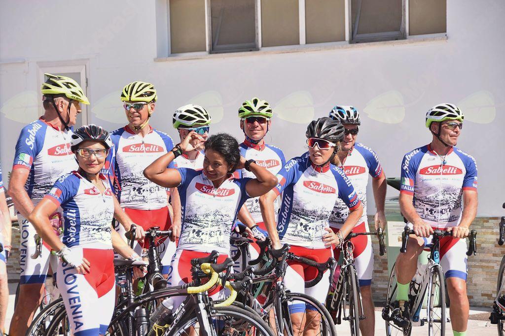 Italijanske kolesarke, ki so prekolesarile dolgo pot do Ascolia