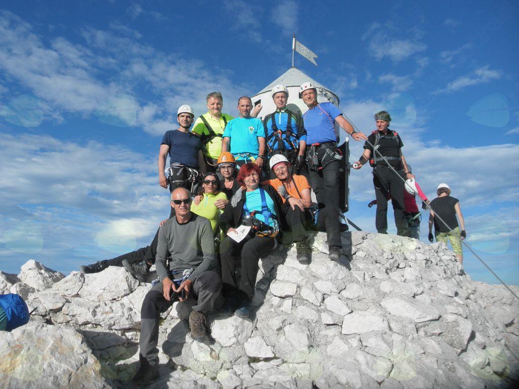 Zbor članov Planinskega društva Lenart