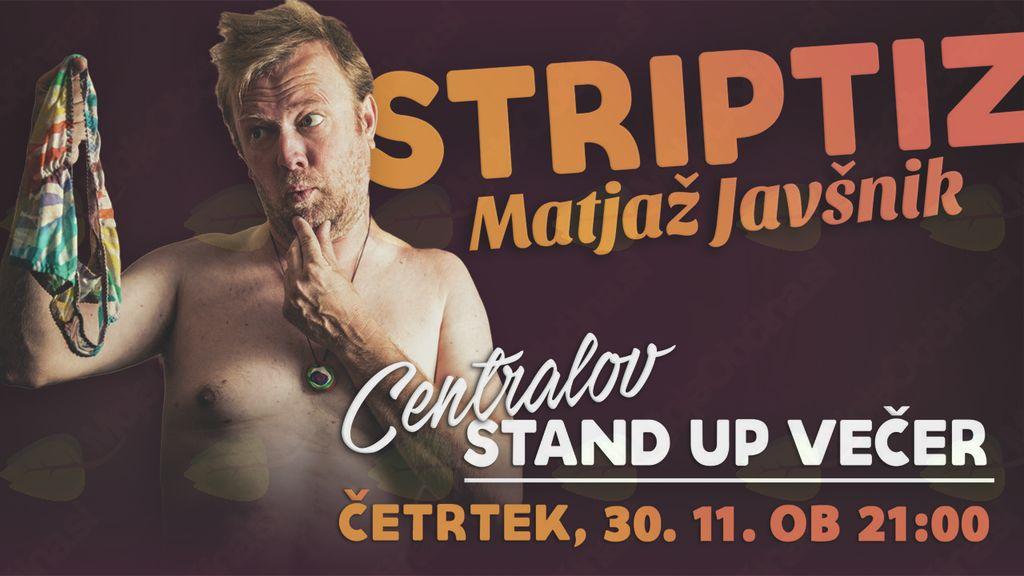Stand up večer - Matjaž Javšnik