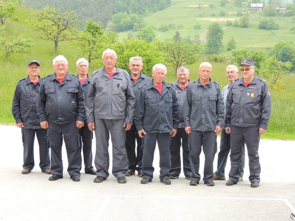 Ekipa veteranov PGD Socka