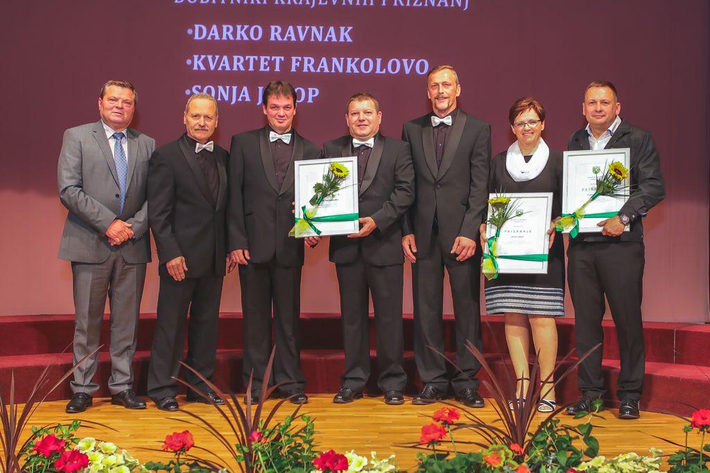 Nagrajenci priznanj KS Frankolovo za leto 2019