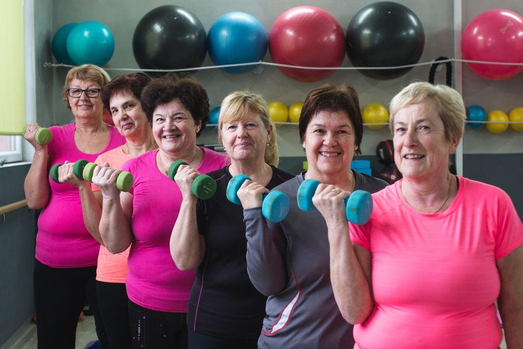 Iz vadbe za seniorje