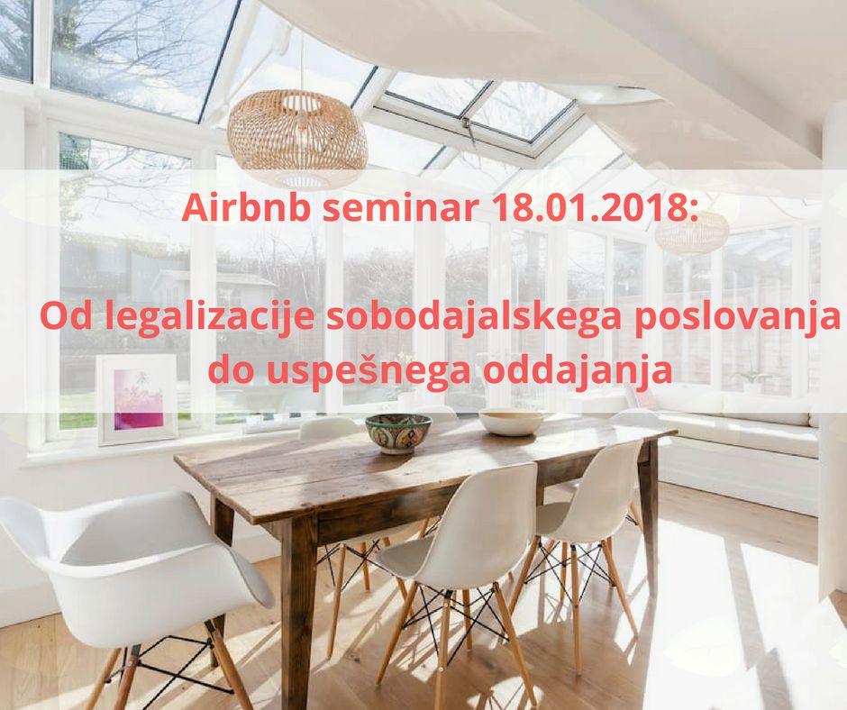 Seminar Airbnb poslovanje