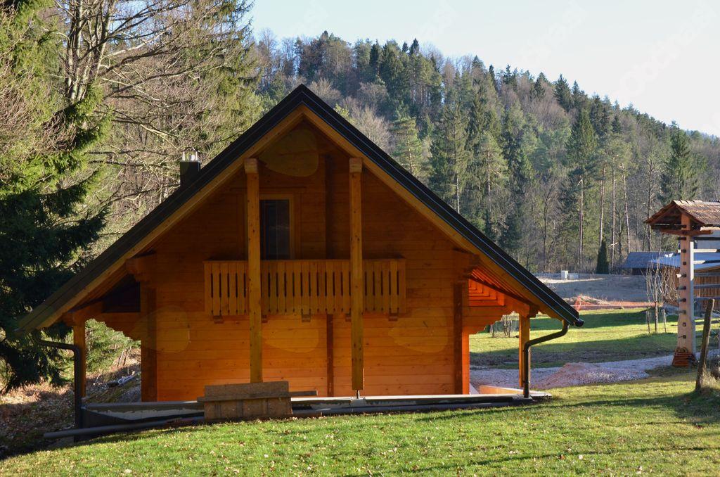 Kdo ne bi imel rad tako lepega bivališča na travniku ob robu gozda?