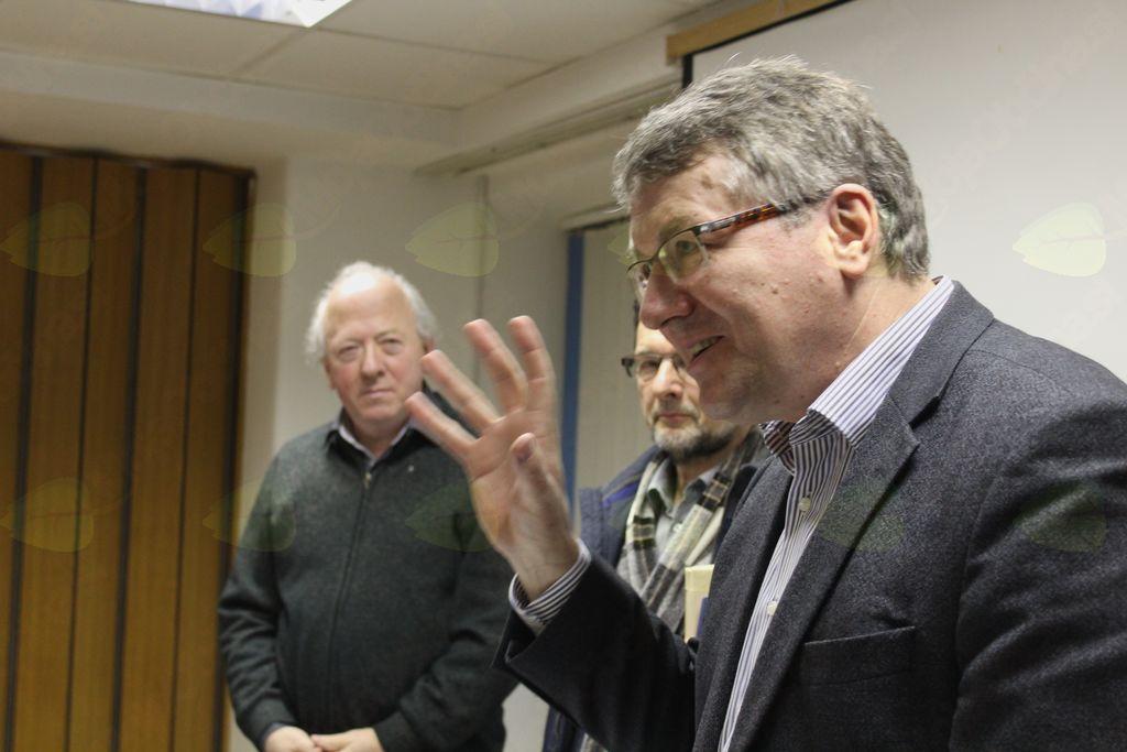 Prof. dr. Igor Bahovec je požel priznanja za svojo veliko sociološko razgledanost.