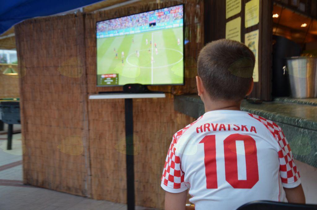 Tudi jaz bom nekoč igral za hrvaško enajsterico.