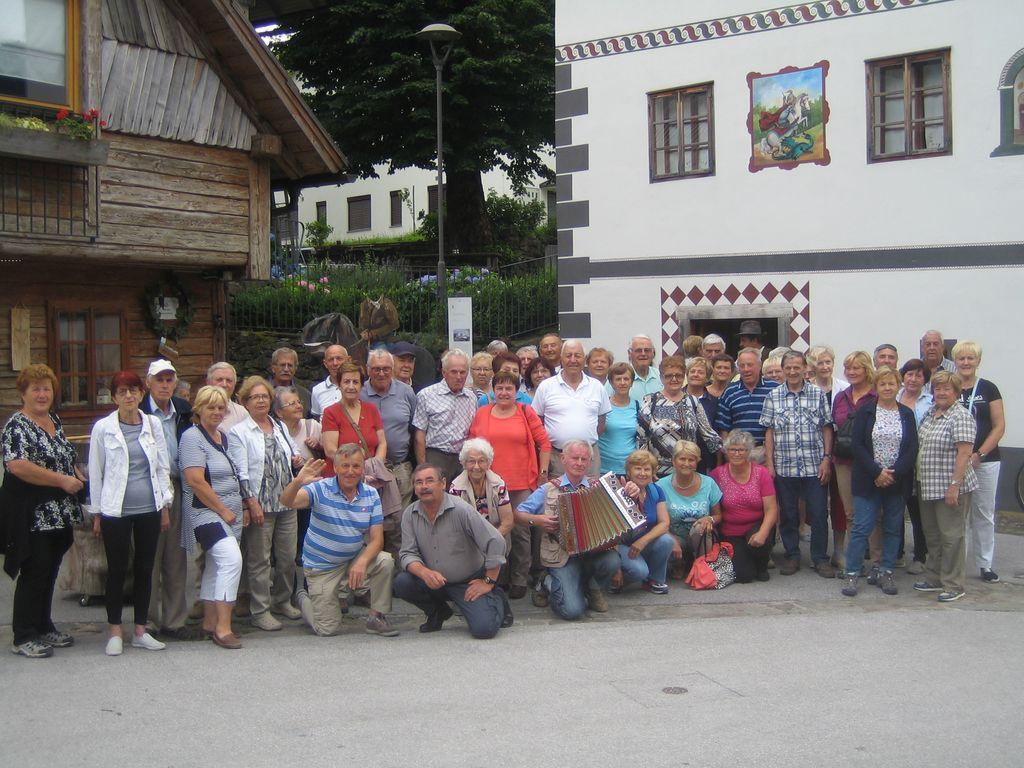 Enodnevni izlet upokojencev v Logarsko dolino