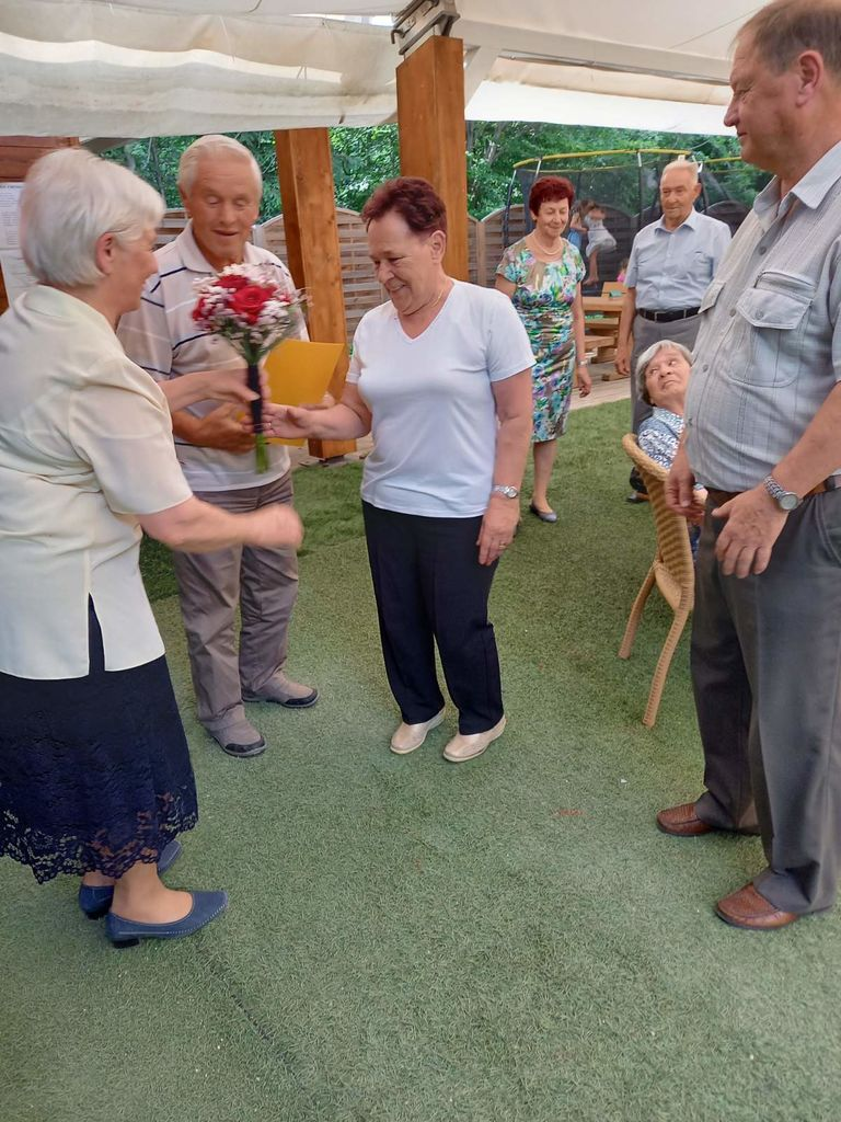 Cilka in Marjan Kvas - 50 let poroke