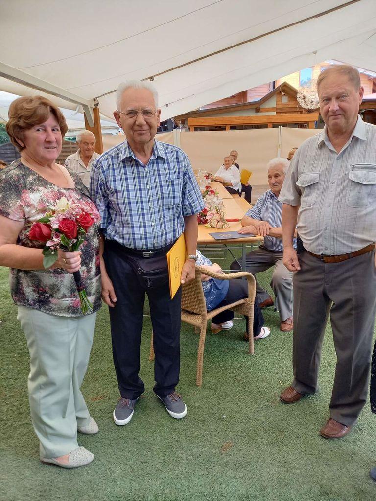 Mira in Franc Podbelšek - 50 let poroke