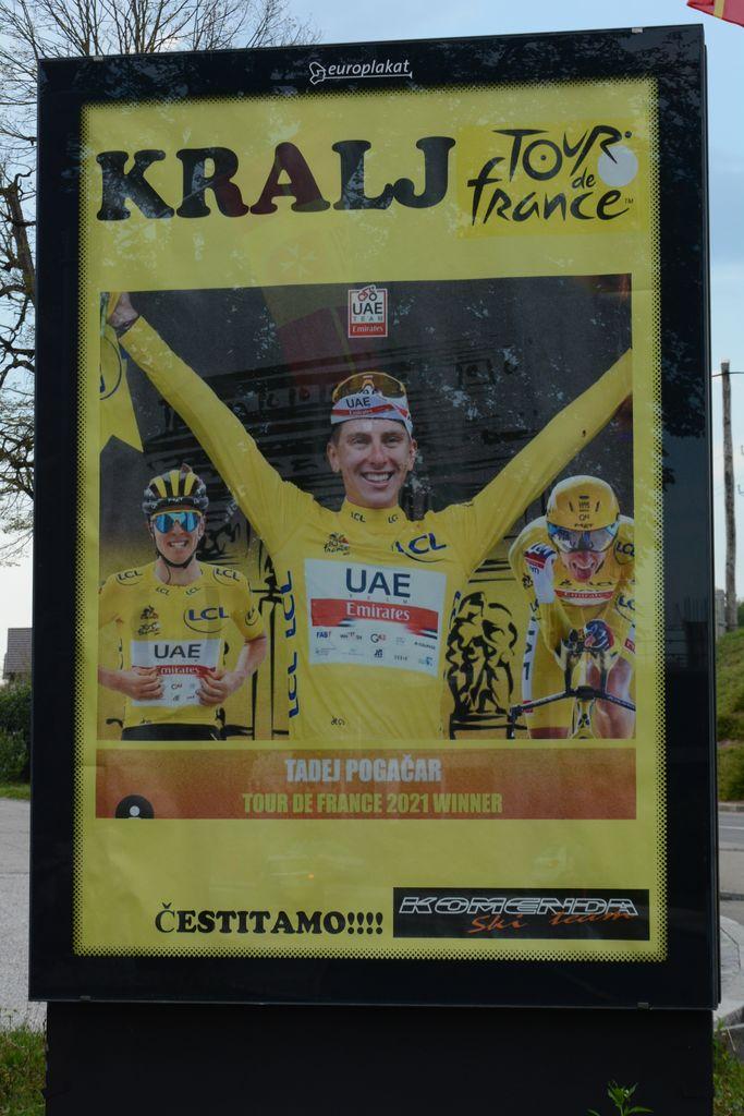 Tadej Pogačar - kralj Tour de France 2020 in 2021