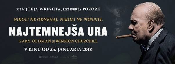 Premiera filma Najtemnejša ura (The Darkest Hour)