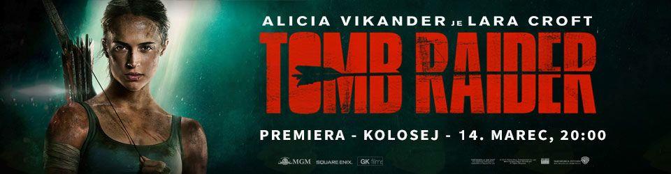 Premiera filma Tomb Raider