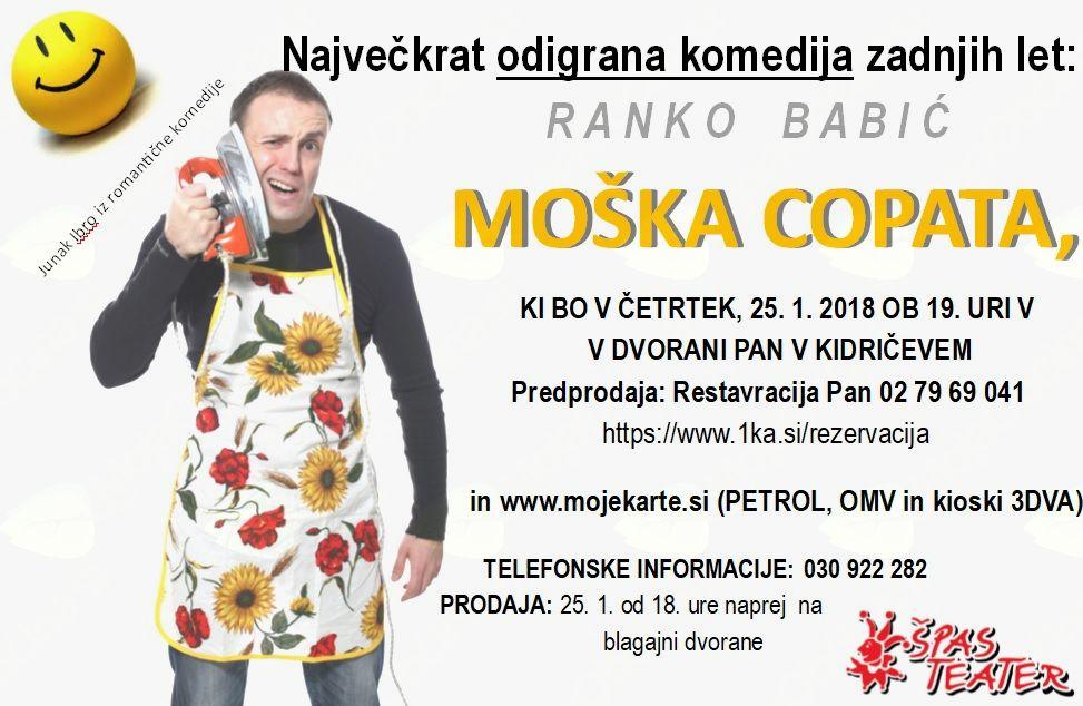 Ranko Babić - Moška copata