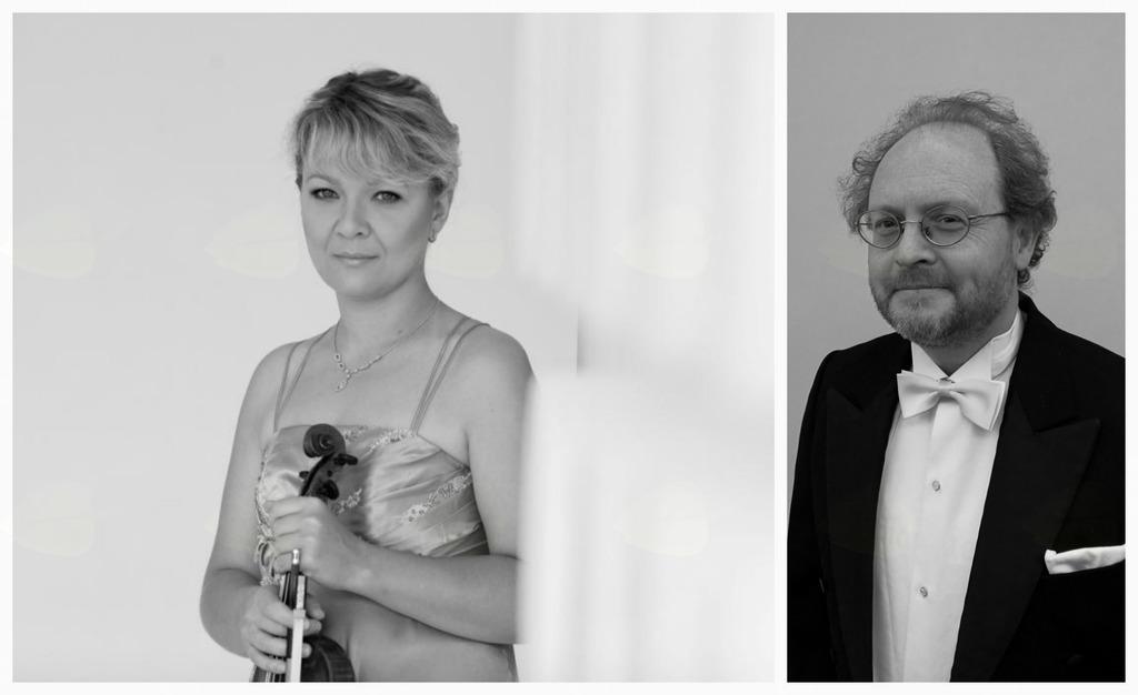 Koncertni atelje: Nadežda Tokareva, violina in Vladimir Mlinarić, klavir