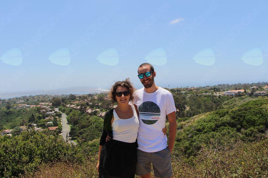 Klara in Henrique nad San Diegom