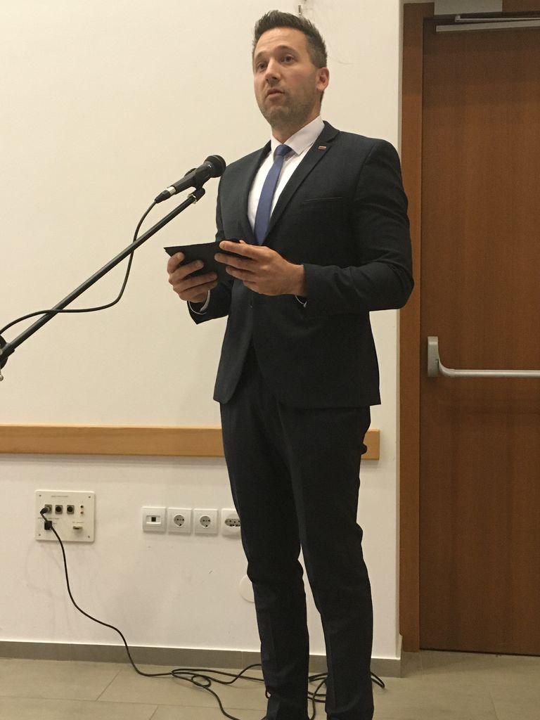 Poslanec DZ Aleksander Reberšek
