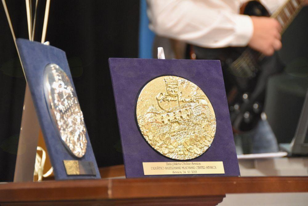 Srebrna in zlata plaketa Občine Sevnica