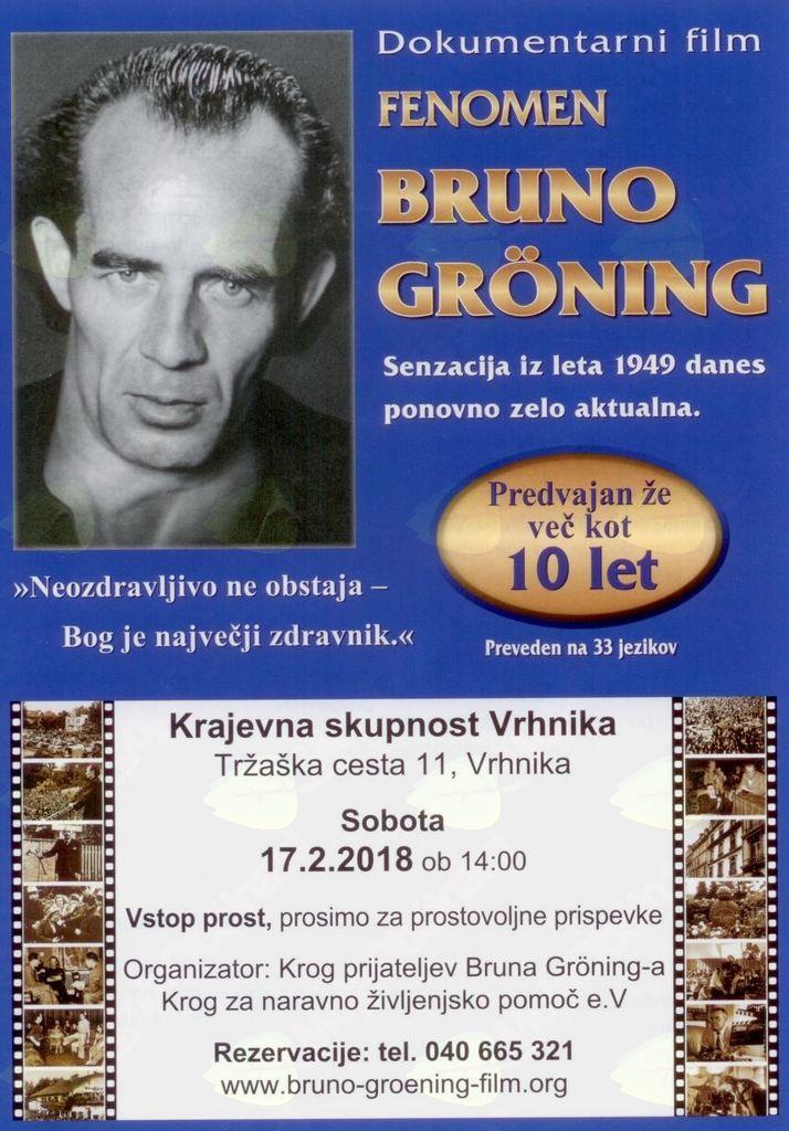 """Dokumentarni film """"Fenomen Bruno Gröning"""""""