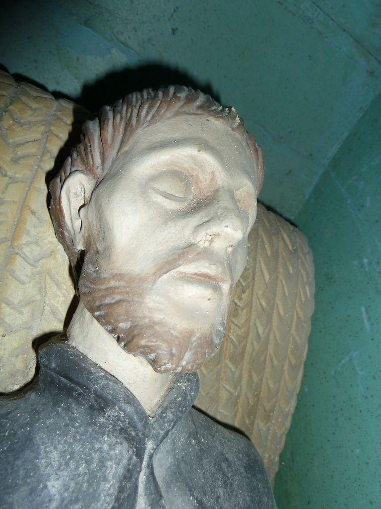 Ravnik pri Hotedršici, p. c., mrtvi sv. Frančišek Ksaver (detajl) (foto: Simona Kermavnar)