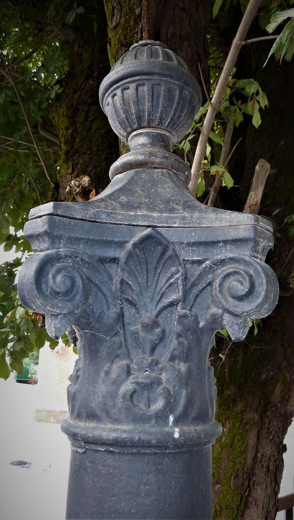 Puppisov pitnik v Gornjem Logatcu, kapitel z artičoko (foto: Simona Kermavnar)