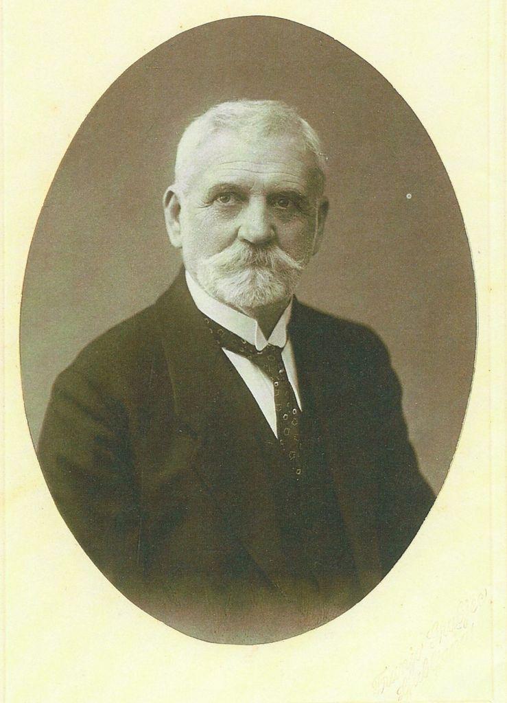 Josip Lenarčič na stara leta (fotografija iz osebnega arhiva Danijela Cvetka)