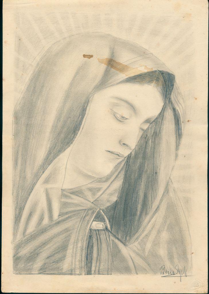 Alojzija Brus, Mater dolorosa (SI PANG 882, Brus Alojzija, t. e. 1)