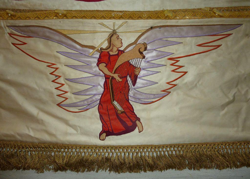 Na harfo igrajoči angel (foto: S. K.)