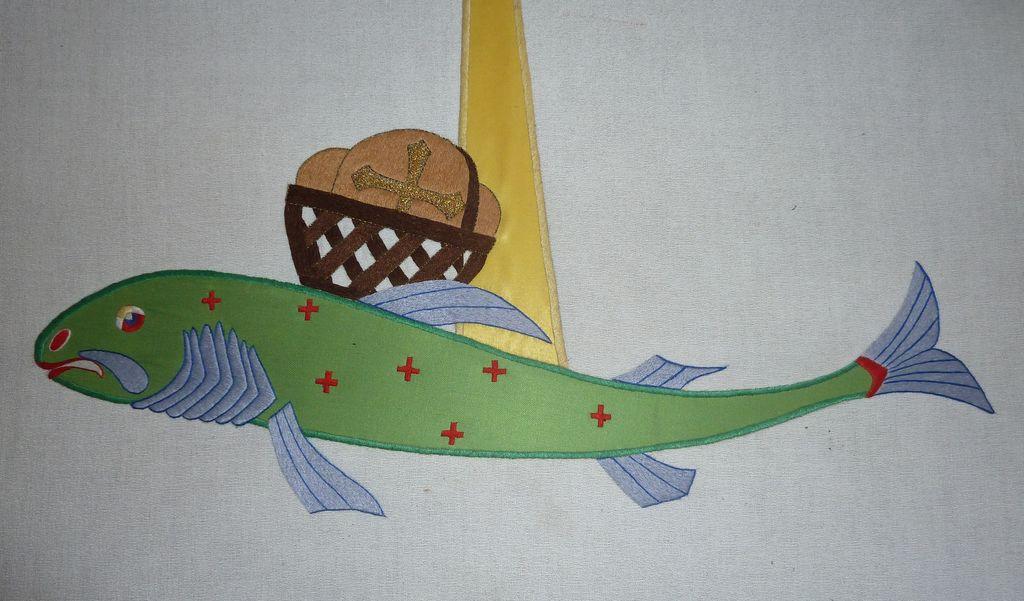 Riba, simbol krščanstva (foto: S. K.)