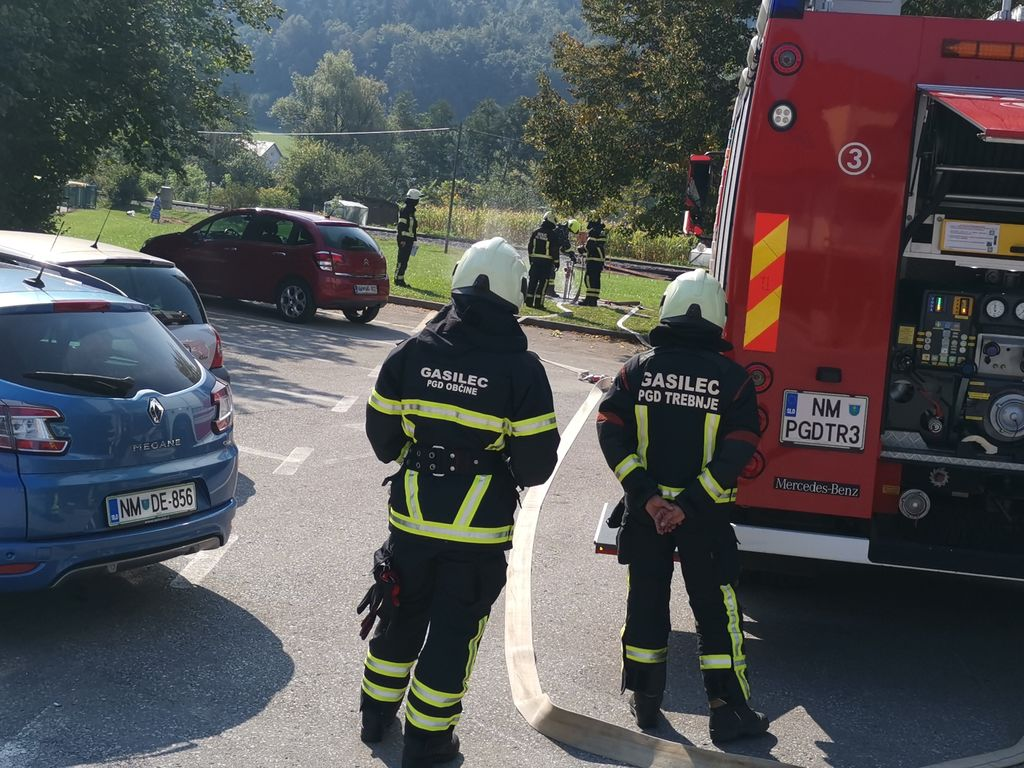 Uspešno zaključili tečaj za višjega gasilca