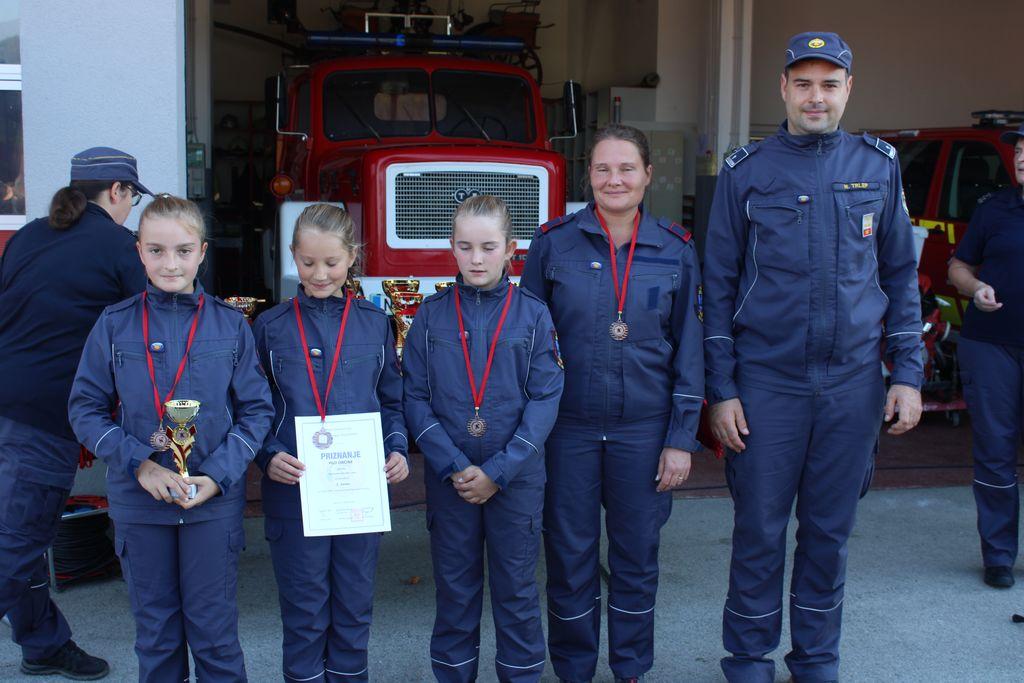 Uspešno zaključene vaje GRD v orientaciji za gasilsko mladino