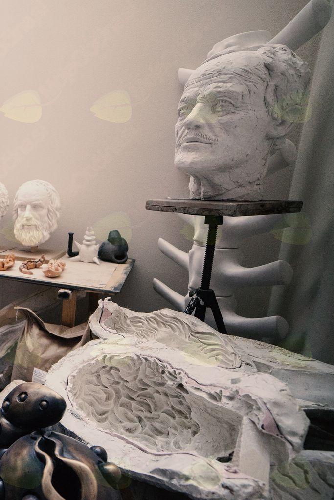 Tečaj kiparstva: Miti in fantastika ujeti v kip