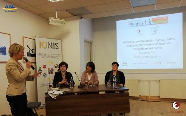 Predavateljice (od leve proti desni): dr. Katarzyna Broczek dr.med., dr. Micaela Seemann Monteiro dr.med., dr. Simona Hvalič Touzery