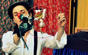 Predstava Veseli cirkus otožnega klovna