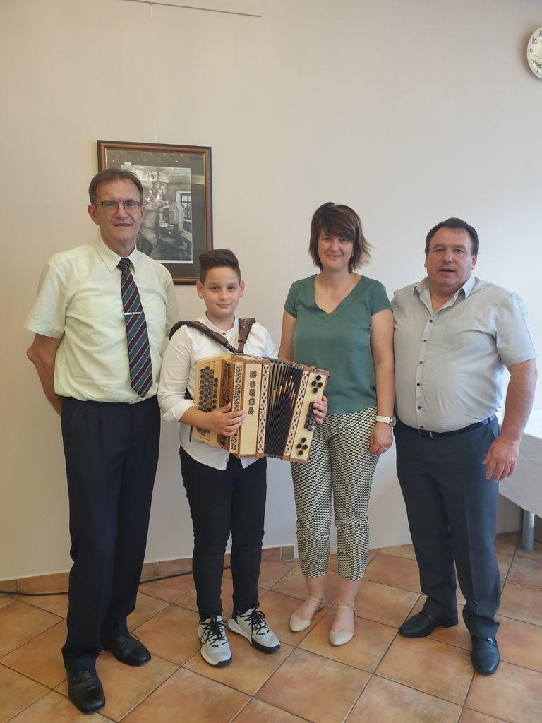 Arnold Ledl, Jakob Tojnko, Lidija Eler Jazbinšek,  Branko Petre