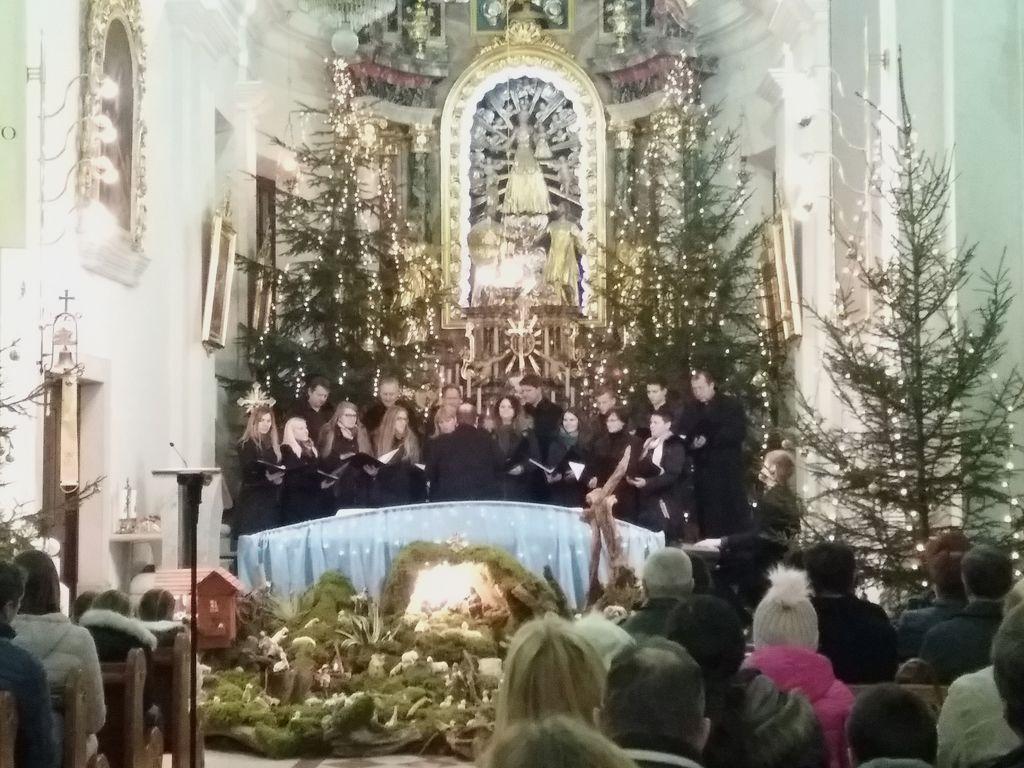 Gostovanje KD DVOR na Božično - novoletnem koncertu v Žužemberku