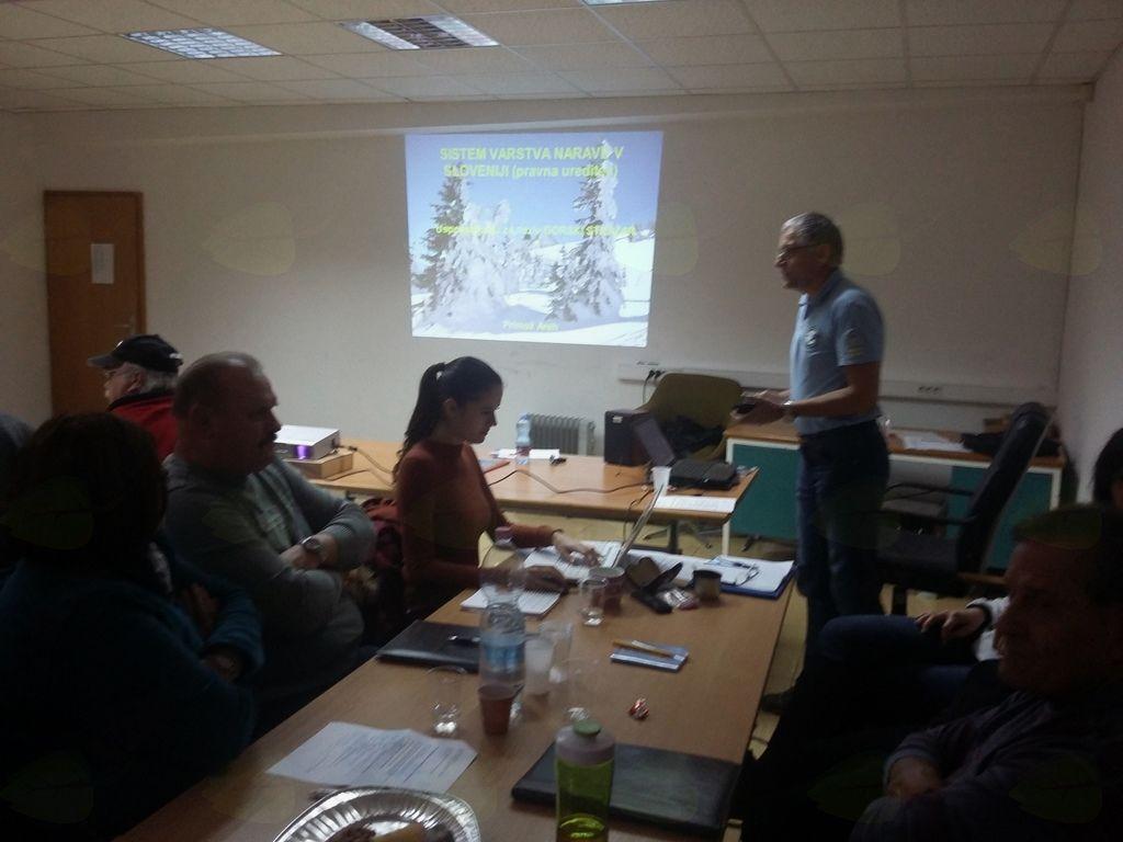 Janez Senica, Vodja odbora za varstvo gorske narave pri MDO PD Koroška