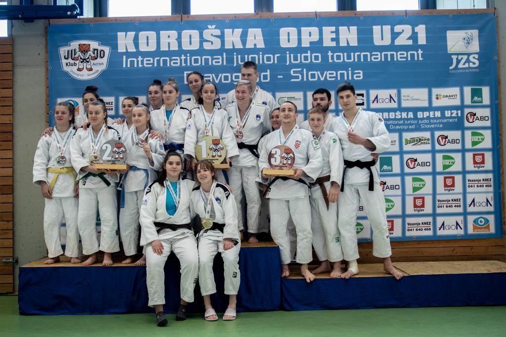 Ekipni uspeh - 1. mesto - JK ACRON Slovenj Gradec