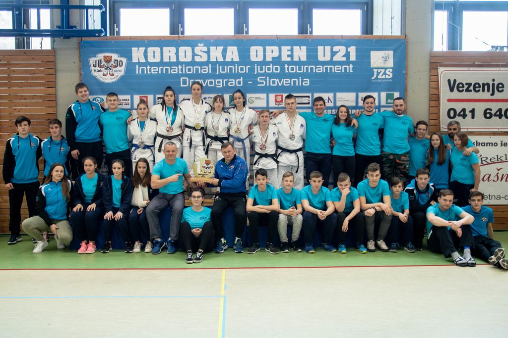 Ekipa Koroške - tekmovalci in organizatorji turnirja