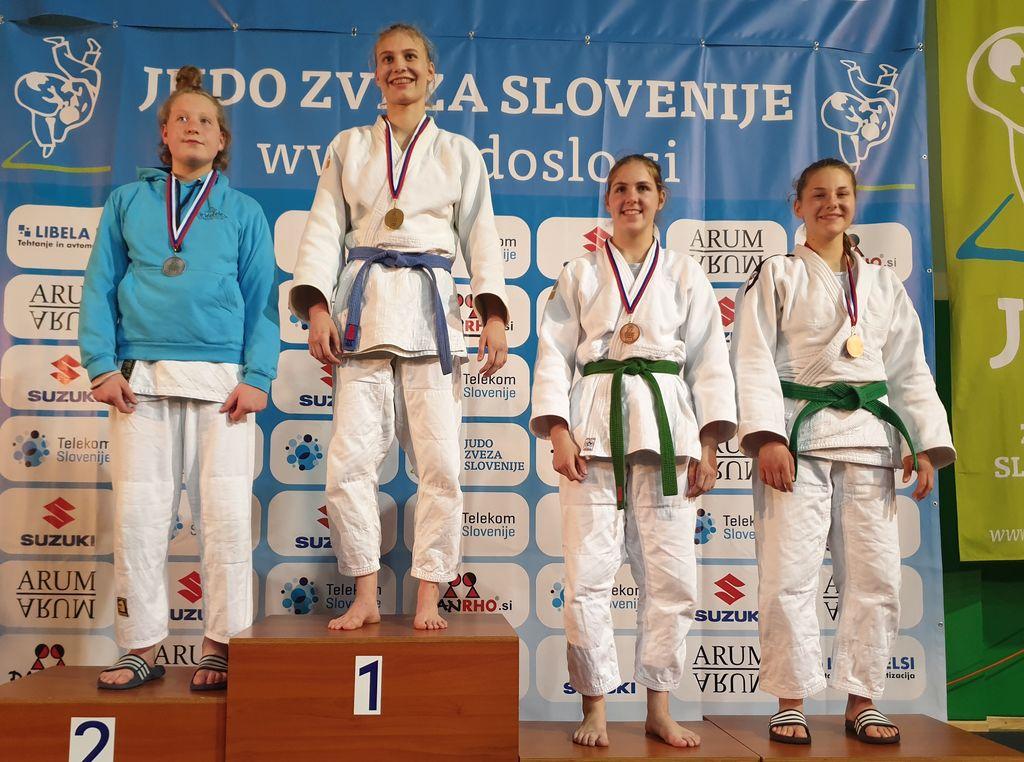 Klara Brodej - 3. mesto do 63 kg
