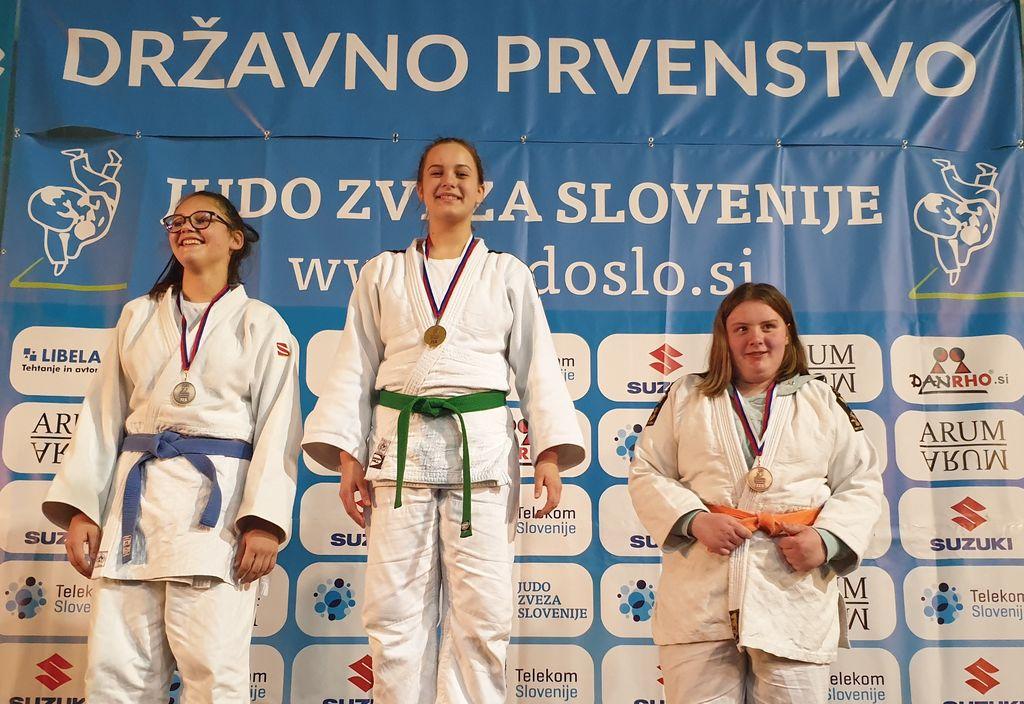Neža Pečoler - državna prvakinja nad 70 kg